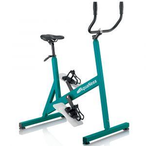 Vélo de piscine aquabike aquaness v3 vert d'eau