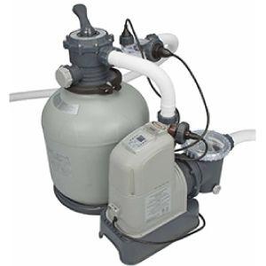 Combiné filtre à sable 8 m³/h et éco stérilisateur + oec