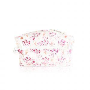 INUWET Trousse Zippe Licorne Trousse à Maquillage Pailletée Motifs Licorne Pochette