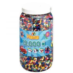Baril de 13 000 perles à repasser taille midi