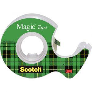 Rouleau scotch magic 19x7,5m devidoire