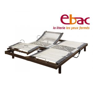 Lit electrique ebac s50 2x80x200
