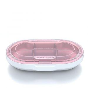 Distributeurs De Comprimés Et Alarmes Reoohouse Pilulier Portable Pilulier Complément Organisateur Hebdomadaire Premium 679026 - Neuf