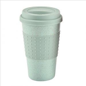 Tasse De Café En Silicone Écologique Tasse De Paille De Blé Tasse De Boisson Extérieure Tasse De Voyage Tasses Et Tasses Tasse De Thé Tasse De Noël Green - Neuf