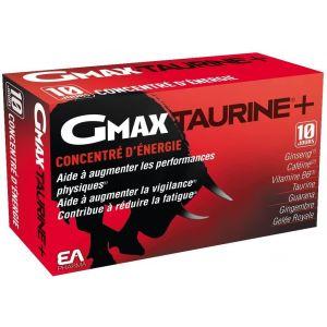 Compléments À Base De Plantes Gmax Taurine Ginseng 30 Ampoules 688199 - Neuf