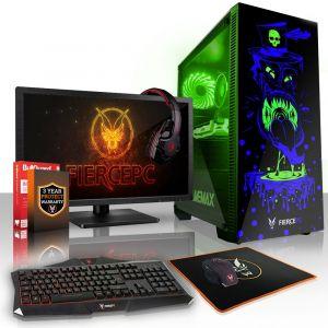 Gamer PC Intel Core i5 7400 4x3.5GHz 8Go GTX 1050 Ti 4Go Gaming Computer Ordinateur - Neuf
