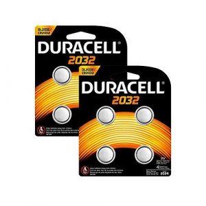 Duracell Spéciale Piles Bouton Lithium type 2032, Lot de 8 - Neuf