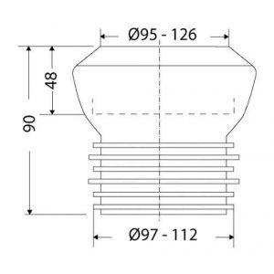 wc sortie verticale comparer 115 offres. Black Bedroom Furniture Sets. Home Design Ideas