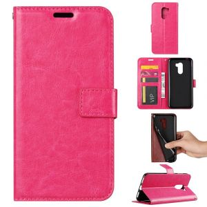 Etui En Pu Colorée En Rose Pour Votre Xiaomi Pocophone F1 - Neuf