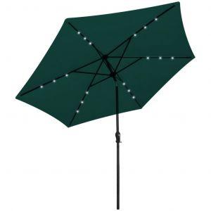 Parasol En Porte-À-Faux 3 M Vert - Neuf