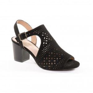 Sandales ajourées bouts ouverts