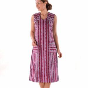 Robe tablier zippee - Femme
