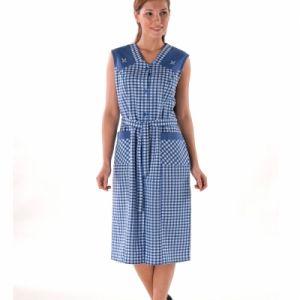Robe tablier brodee - Femme