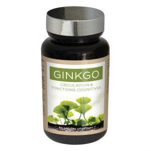 """GINKGO BILOBA """"l'ami des fonctions cognitives: vigilance, concentration, audition."""""""
