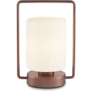Lampe de chevet en métal cuivre Quinque - Kaishi