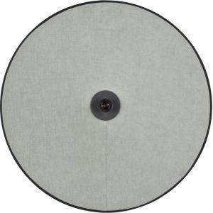 Applique murale en coton et velours grise D60 Gastby - Market Set