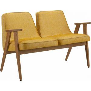 Banquette en tissu Loft jaune moutarde Oak 03 366 - 366 Concept
