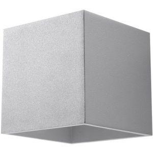 Applique murale grise Quad - Sollux