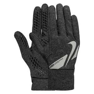 Nike Gants de Joueur Shield Hyperwarm - Gris/Argenté - Gris - Taille Medium