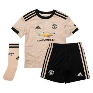 Manchester United Maillot Extérieur 2019/20 Mini-Kit Enfant - Marron - Taille 104 cm