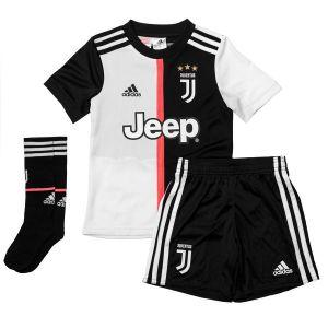 Juventus Maillot Domicile 2019/20 Mini-Kit Enfant - Blanc - Taille 116 cm