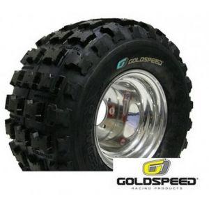Pneu quad et buggy 18x10-8 Goldspeed cross MXR bleu