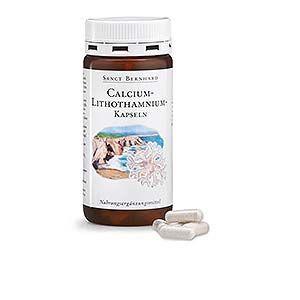 Gélules au calcium et au lithothamne