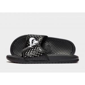 Nike Sandales Benassi Just Do It Femme - Black/White, Black/White