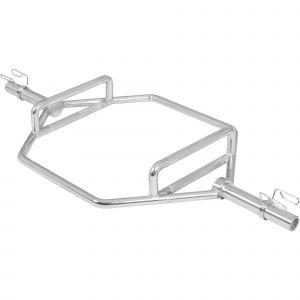 Barre hexagonale Olympique 50 mm - Shrug Bar/Trap Bar