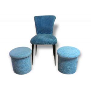 tabouret fourrure comparer 94 offres. Black Bedroom Furniture Sets. Home Design Ideas