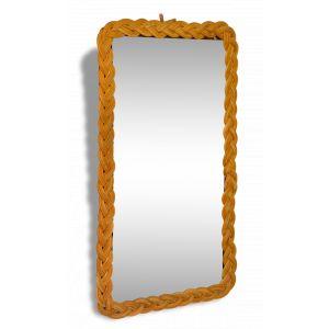 Miroir en rotin comparer 377 offres for Miroir rectangulaire en rotin