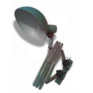 Lampe articulé atelier industriel vintage en metal