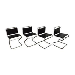 Lot de 4 chaises modèle Biscia par Pascal Mourgue pour Steiner