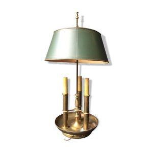 Lampe bouillote en bronze époque XXeme