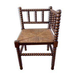 Chaise coin de cheminée