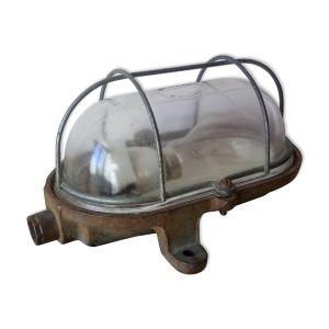Lampe applique industrielle Mapelec en fonte