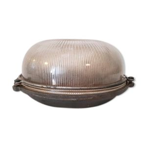 Lampe industrielle fonte à hublot