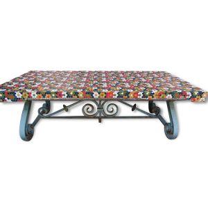 table de jardin ciment comparer 36 offres. Black Bedroom Furniture Sets. Home Design Ideas