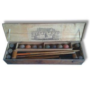 Jeu de croquet de 1890