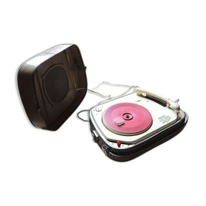 Tourne-disque electrophone valise vintage teppaz oscar