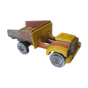 Camion benne en bois années 50/60