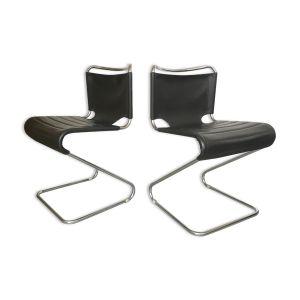 Chaises 'biscia' design Pascal Mourgue pour Steiner