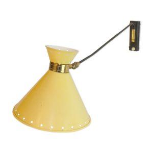 Lampe potence articulée jaune R. Mathieu