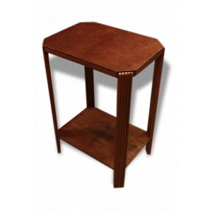 table de chevet en cuir comparer 94 offres. Black Bedroom Furniture Sets. Home Design Ideas