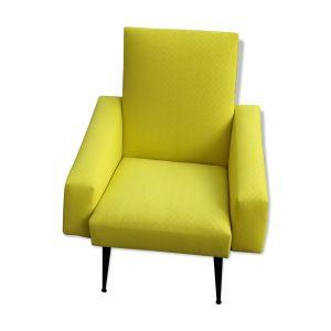 Fauteuil vintage jaune selency - Comparer 65 offres