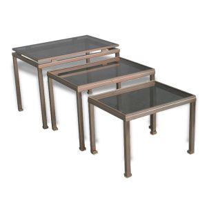tables basse de salon en verre comparer 222 offres. Black Bedroom Furniture Sets. Home Design Ideas