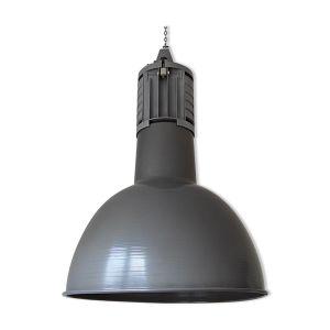Lampe industrielle d'atelier en acier et aluminium