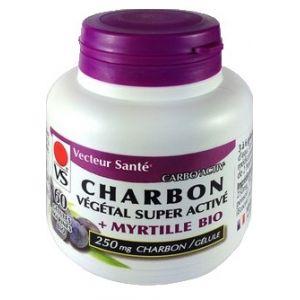 CHARBON VEGETAL Super Activé & Myrtille