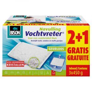 Sachet de recharge pour absorbeur d'humidité Bison 450g (3 Pièces)
