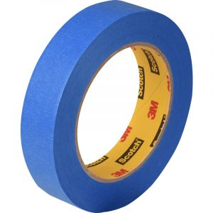 Scotch rouleau adhésif 3M 2090 Bleu 24mmx50m